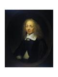 Portrait of Constantijn Huygens Print by Caspar Netscher