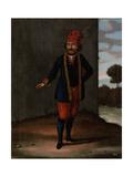 Man from the Island of Kithnos (Thermia) Poster von Jean Baptiste Vanmour
