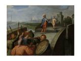 Peace Negotiations Between Julius Civilis and the Roman General Cerialis Kunstdruck von Otto van Veen
