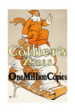 Collier's X'Mas, One Million Copies Prints by Edward Penfield