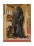 Saint Jerome Plakater af Lorenzo Monaco