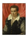 Portrait of a Woman. Prints by Lorenzo Lotto