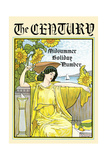 The Century, Midsummer Holiday Number Poster di Louis Rhead