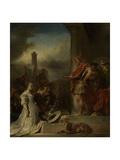 Continence of Scipio Poster von Jan Van Noordt