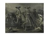 Friedrich V, Elector Palatine Kunstdrucke von Adriaen Pietersz van de Venne