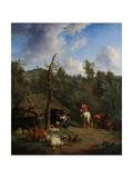 The Hut Kunstdrucke von Adriaen van de Velde