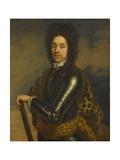 Portrait of Menno Van Coehoorn, General in the Artillery and Fortifications Engineer Poster by Caspar Netscher