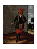 Man from the Island of Tinos Kunstdrucke von Jean Baptiste Vanmour