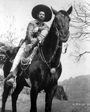 Eli Wallach in Cowboy Outfit With Horse Foto von  Movie Star News