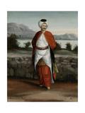 Choadar, Servant of the Ambassador Kunst von Jean Baptiste Vanmour