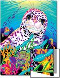 Rainbow Reef '94 Poster von Lisa Frank