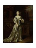 Portrait of Lady Philippina Staunton, Wife of Roelof Van Arkel, Lord of Burgst Art by Caspar Netscher