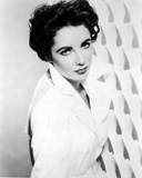 Elizabeth Taylor Posed in Coat Classic Portrait Photo by  Movie Star News