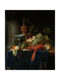 Still Life with Golden Goblet Prints by Pieter De Ring