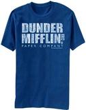The Office- Distressed Dunder Mifflin Logo T-Shirt
