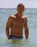 Daniel Craig Posed in Beach Foto von  Movie Star News