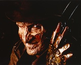 Nightmare On Elm Street Freddy in Close Up smiling Portrait with Hat Foto av  Movie Star News