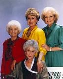 Golden Girls smiling Posed Group Portrait Photographie par  Movie Star News