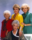 Golden Girls smiling Posed Group Portrait Foto von  Movie Star News