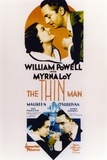 Thin Man Poster Two with William Powell and Myrna Loy Foto af  Movie Star News