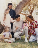 Full House Cast Portrait Photo by  Movie Star News