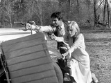 A scene from Bonnie and Clyde. Fotografia por  Movie Star News