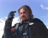 Sean Bean in Lord of the Rings Movie Fotografia por  Movie Star News