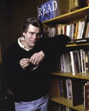 Stephen King in Black Sweater Photo by  Movie Star News