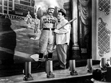 Abbott & Costello Posed Holding a Baseball Bat Photographie par  Movie Star News
