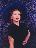 Ann Sothern standing Pose in Black Dress Portrait Foto af  Movie Star News