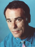 Dean Stockwell Posed in Blue Shirt Portrait Foto af  Movie Star News
