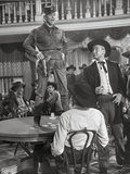 Calamity Jane standing on The Table While Talking in Police Uniform Photo by  Movie Star News