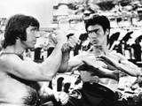 Bruce Lee in Fighting Scene Photo by  Movie Star News