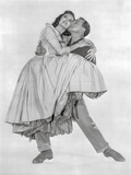 Brigadoon Man Carrying Lady in Gown Fotografía por  Movie Star News