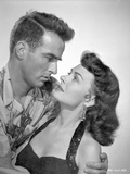 From Here To Eternity Man about to Kiss a Woman in Black Photo by  Movie Star News