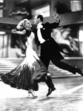 Fred Astaire and Ginger Rogers Classic Dancing Foto av  Movie Star News