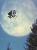 E.T. Flying Bicycle Portrait Foto af  Movie Star News