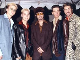 N'sync Group Posed in Coat Foto af  Movie Star News