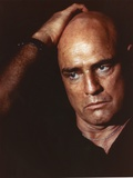 Marlon Brando with Hand on Head Movie Still From Apocalypse Now Fotografia por  Movie Star News