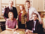 Six Feet Under Taking a Group Picture in the Dining Room Photo Movie Star News