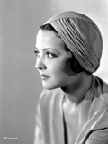 Sylvia Sidney wearing a Dress with Hat Photo by  Movie Star News