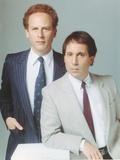 Simon & Garfunkel wearing a Coat and Tie in a Portrait Photographie par  Movie Star News