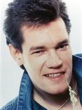 Randy Travis smiling in Close Up Portrait wearing Blue Denim Jacket Foto von  Movie Star News