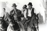 Harrison Ford Riding a Horse with Friends Photo by  Movie Star News