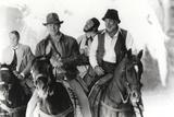Harrison Ford Riding a Horse with Friends Fotografia por  Movie Star News