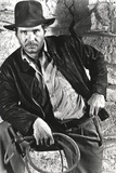 Harrison Ford in a Cowboy's Attire with Whip Fotografia por  Movie Star News