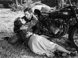 Scene from The Wild One with Marlon Brando Foto von  Movie Star News