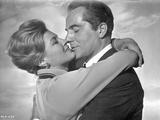 Rome Adventure Classic Kissing Scene Photo by  Movie Star News