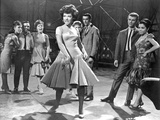 West Side Story Woman in Dress Dancing Foto di  Movie Star News