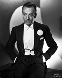 Fred Astaire in Tuxedo with Hands on Pocket Black and White Foto av E Bachrach